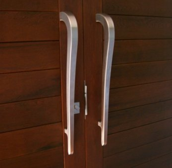 Stainless Door Handles.JPG